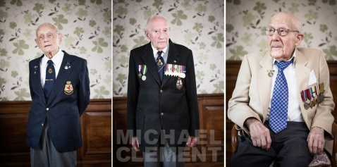 Michael Clement photographs war veterans