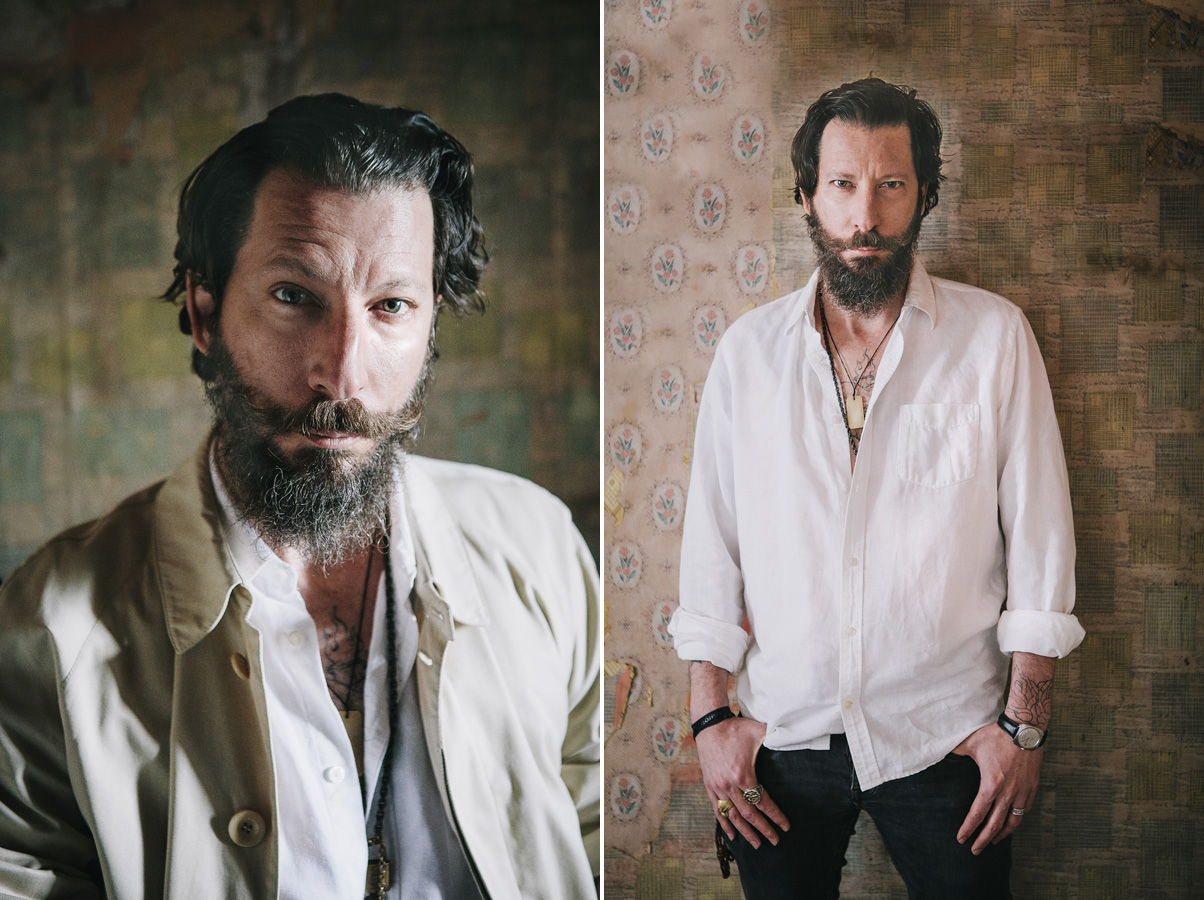 Portrait of actor Cokey Falkow, London