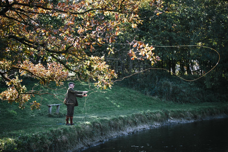 Vintage fishing-